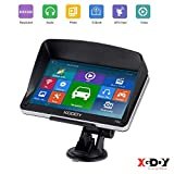 GPS Navigation for car, 7' Xgody GPS 8GB Truck GPS Navigation System,Free American map, Camera Alerts, Lifetime Free Map Updates (2019 Upgraded Version)