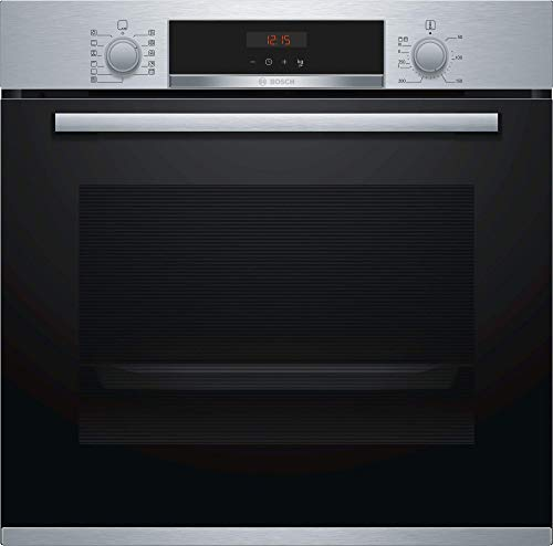 Bosch HBA574BR0 Forno, 3600 W, 71 Litri, Acciaio Inossidabile