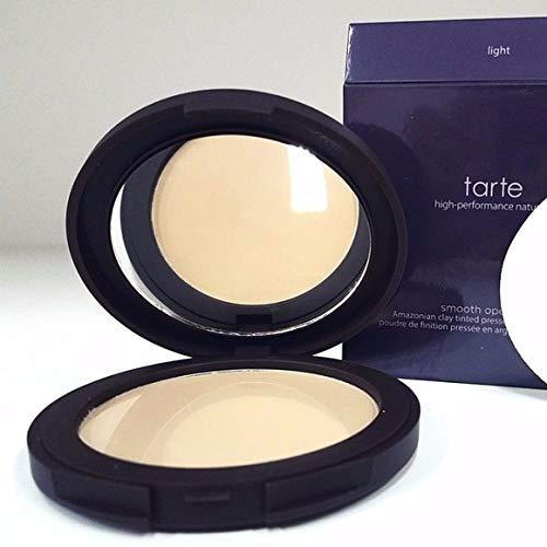 tarte Smooth Operator Amazonian Clay Tinted Pressed Finishing Powder (Light) by Tarte