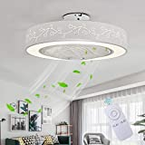 Ventilateur De Plafond Avec Lumière Ventilateur Créatif Invisible Avec...