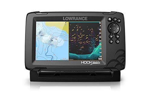 Lowrance Hook Reveal 7X Fishfinder w/SplitShot Transom Mount Transducer