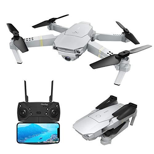 EACHINE E58 PRO Drone con Telecamera HD 1080P Pieghevole WiFi FPV App Mobile Controllo Grandangolare...