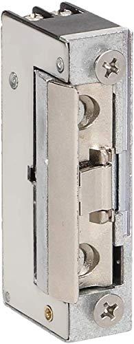 ORNO Mini Gache Electrique Pour les portes gauche et droite, symétrique, réglage rigide, 8-14V AC/DC (Courant faible avec mémoire + verrouillage)