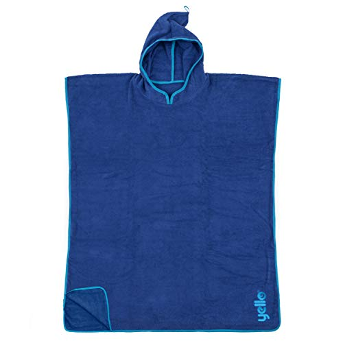 Yello Towel Poncho, blau, Einheitsgröße