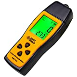 Ubrand Handheld Carbon Monoxide Meter, 80db Light CO Leak Detector, Portable Handheld CO Detector, CO Gas Analyzer with LCD Display, 0-1000 ppm High Precision