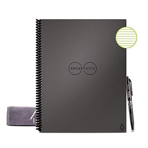 Rocketbook. Cuaderno inteligente reutilizable con forro...