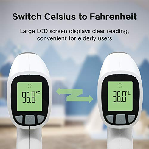 Forehead-Thermometer-for-AdultsBatteries-not-Included-Non-Contact-Thermometers-Forehead-Thermometer-for-Baby-Kids-Adults
