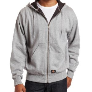 Dickies Men's Thermal-Lined Fleece Hoodie