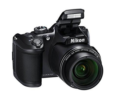 Nikon Coolpix B500 - Cámara Digital, Color Negro