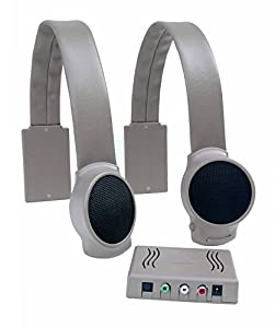 Hear the TV without filling the room with sound Watch TV without wearing uncomfortable headphones Hear what's going on around you unlike with wireless TV headphones Allow others to keep the room volume where they want it Easy to install. One simple c...