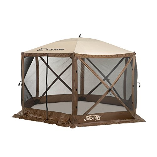 Quick Set 9879 Tent, 140 x 140-Inch, Brown/Tan