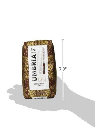 Caffe Umbria Fresh Seattle Whole Bean Roasted Coffee, Arco Etrusco Blend Dark Roast, 12 oz. Bag 6
