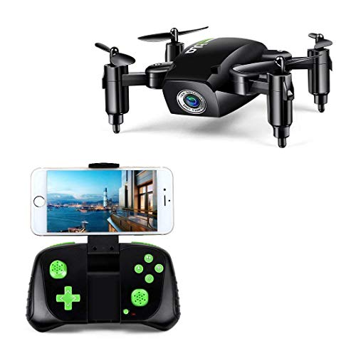 Mini Drone pieghevole a 6 assi giroscopio Altitude Hold RC Quadcopter con videocamera WiFi HD FPV 2.4Ghz 480P