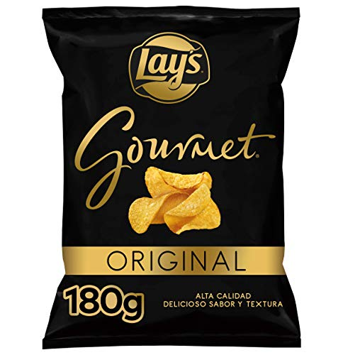 Lay'S Gourmet Patatas Fritas con Sal, 180g