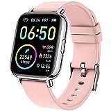 Smartwatch, 1.69' Reloj Inteligente Mujer Impermeable IP68 Pulsera Actividad 24...