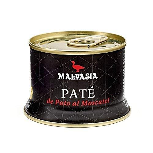 Paté de Pato Gourmet de Sabor Suave al Moscatel Malvasía,