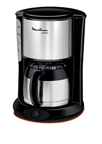 Moulinex FT360811 Thermo Kaffeemaschine Subito edelstahl,Schwarz