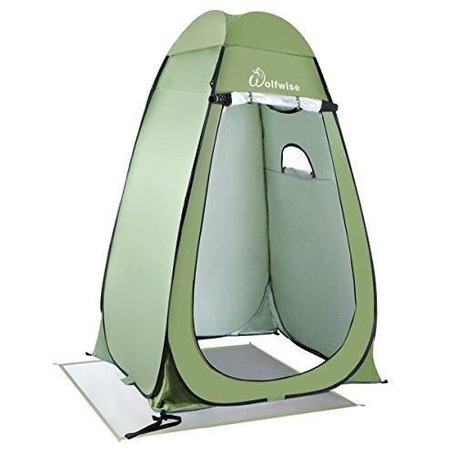 WolfWise Tente de Douche Pop Up Toilette Changement Camping Abri de Plein...