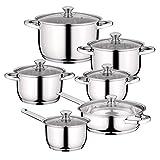 BergHOFF Gourmet Cooking Pot Set 12 Pieces