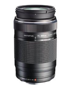 Olympus M.Zuiko Digital ED 75-300mm f/4.8-6.7 II - Objetivo para Micro cuarto tercios (distancia focal 75-300mm, apertura f/4.8-6.7 equivalente a un 150-600mm en 35mm)