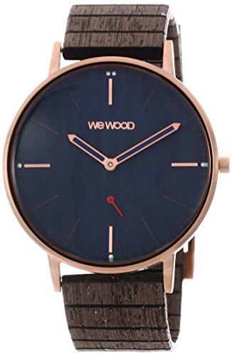 WEWOOD Herren Analog Quarz Smart Watch Armbanduhr mit Holz Armband WW63003