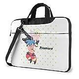 XCNGG Promare Anime Laptop Hombro Messenger Bag Tablet Computadora Almacenamiento Mochila Bolso 13 Pulgadas
