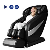 Massage Chair, Zero Gravity Massage Chair, Full Body Shiatsu Massage Chair Recliner with Space Saving, Yoga Stretching, SL Track, Bluetooth Speaker, Heat,Foot Roller&Vibrator Ugears B-L1
