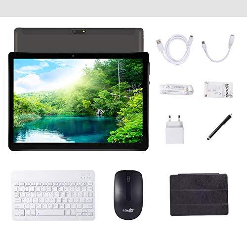 Tablet Android 9.0 da 10 pollici con WIFI quad-core Navigazione Bluetooth 4 GB di RAM 64 GB di...