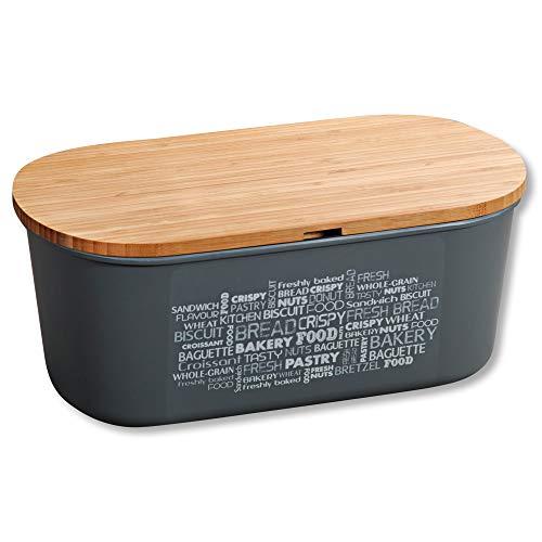 Kesper 58501 Brotbox, Melamin, Bambus