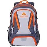 OZARK TRAIL 35L Choteau Daypack Backpack Orange/Grey (Orange/Gray)