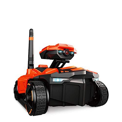 LXWM Carro Armato RC 1/18 con Telecamera HD WiFi FPV Telecamera 0.3MP App Telecomando Serbatoio RC Giocattolo Telecomando Robot Giocattolo per Bambini Natale Regalo di Compleanno