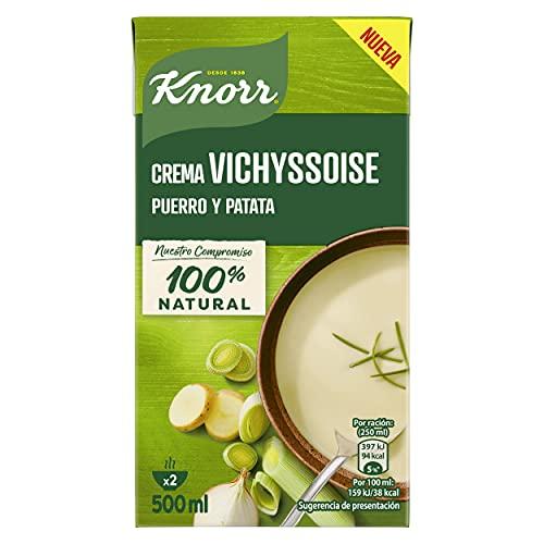 Knorr Las Cremas - Vichyssoise Puerro y Patata, 500 ml