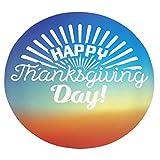 Xuanlin Manta cómoda, Manta Suave Redonda Feliz día de acción de Gracias para Adultos y niños