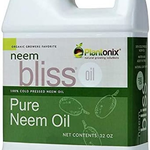Organic Neem Bliss 100% Pure Cold Pressed 32 Ounce Bottle