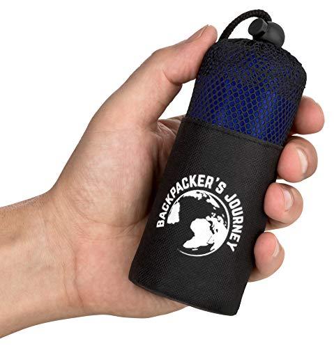 Backpacker's Journey Sac de Couchage de Voyage (Seulement 155 g), Sac de...