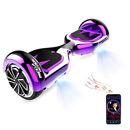 HITWAY Hoverboard Bluetooth 6.5 Pouces Scooter électrique Self Balance E-Scooter Overboard pour Enfants et Adolescents 4431