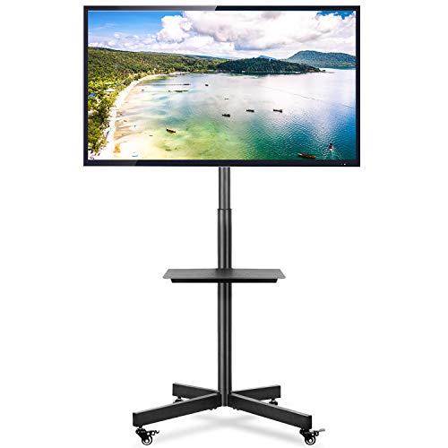 RFIVER Carrello TV Supporto TV da Pavimento con Ruote Porta Robusto per 32 a 60 pollici LCD LED...