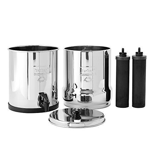Product Image 2: Big Berkey Gravity-Fed Water Filter with 2 Black Berkey Purification Elements