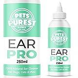 Pets Purest 100% Naturel Nettoyant Oreilles Chiens (250 ML) Il...