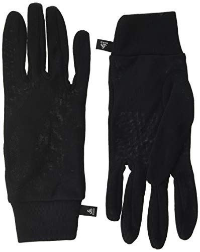 Odlo Unisex Handschuhe Warm, Schwarz (Black/15000), XL, 10640