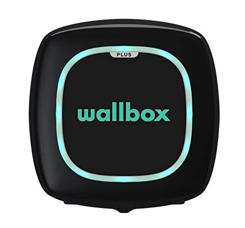 Wallbox Pulsar Plus - Tipo 2. Potencia 11 kW Negro, Cable 5m