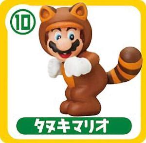 【10.タヌキマリオ】 チョコエッグ スーパーマリオ
