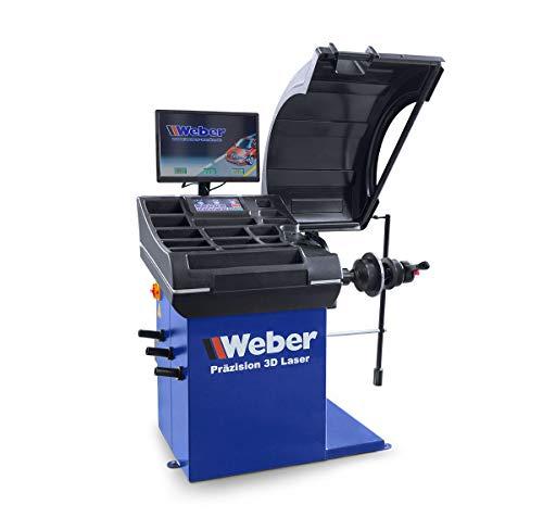 PKW Radwuchtmaschine Weber Expert Serie Präzision-3D-Laser