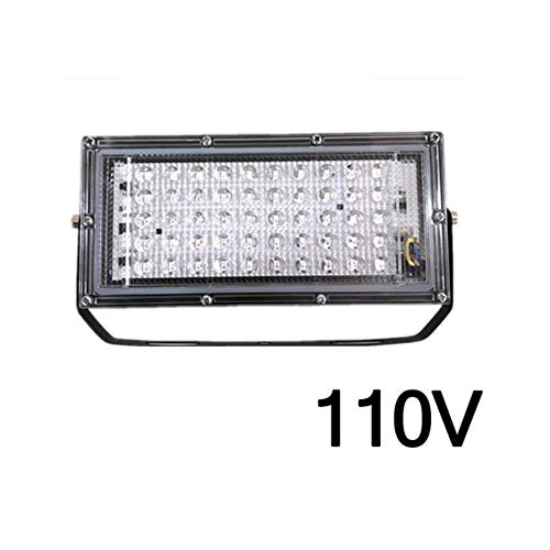 YUJIE 50W LED Lampada germicida UV Luce di inondazione Riflettore Proiettore Lampada da Parete per...