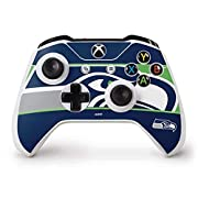 Ultra-Thin, Lightweight Xbox One S Controller Vinyl Decal Protection Officially Licensed NFL Design Industry Leading Vivid Color Vinyl Print Technology on your Seattle Seahawks Zone Block skin Scratch - Resistant. Built To Last Everday Xbox One S Con...
