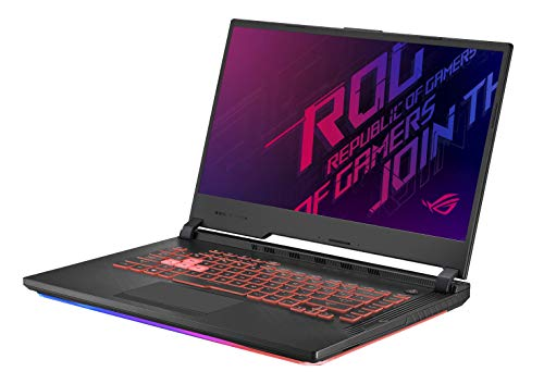 "Asus ROG STRIX-G-G531GV-AL172T PC Portable Gaming 15"" (Intel Core i7-9750H, RAM 16Go DDR4, 1To SSD, Nvidia RTX 2060 6Go, Windows 10) Clavier AZERTY Français"