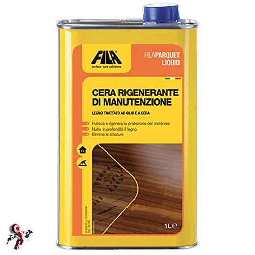 Filaparquet liquid cera rigenerante di manutenzione 1 litro manutenzione parquet cera per parquet...