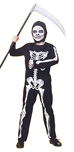Rubies - Disfraz infantil de esqueleto, 5-7 años (Rubie's 12507-M)