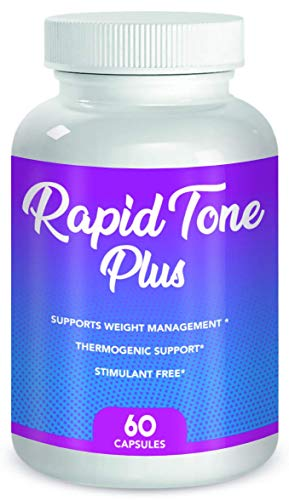 Rapid Tone Plus Weight Loss Supplement- Supports Rapid Fat Burn, Carb Blocking & Metabolism Boost- (1 Month Supply) 1