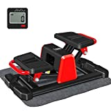 BEOUZO Indoor Stair Stepper, Portable Home Gym for Women and Man, V-Type Sport Mode Climbing Machine, Cardio Fitness Stepper with LCD Monitor, Exercise Machine for Full-Body Workout